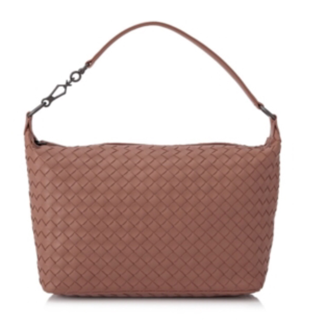 Bottega Veneta Intrecciato Nappa Brunito Loop Handle Bag ae4f3a50782ea