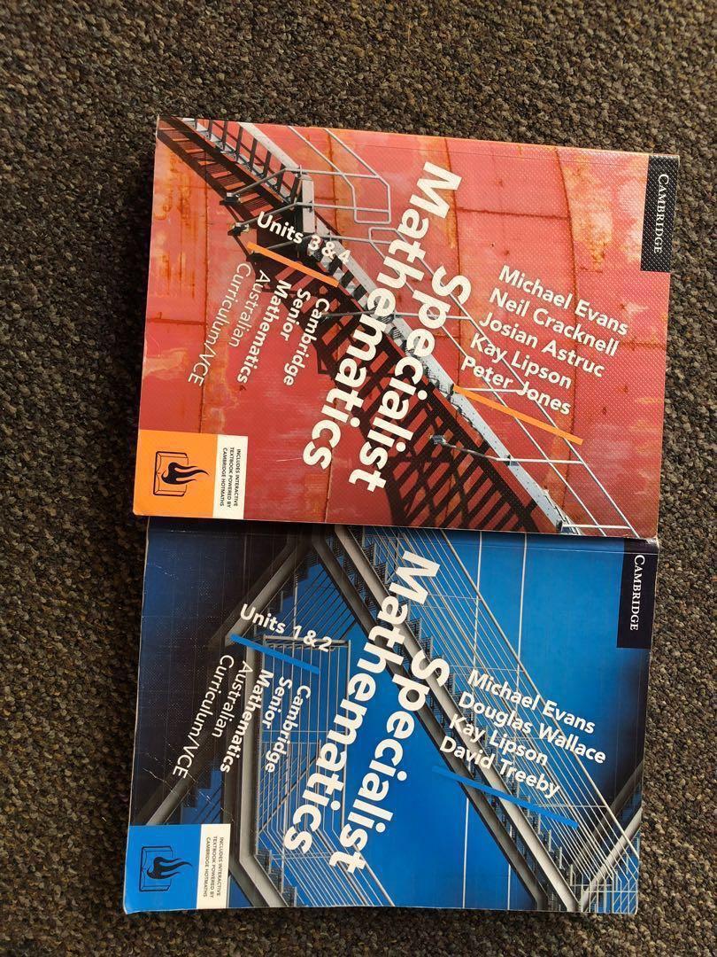 BRAND NEW Cambridge Specialist Mathematics Textbook