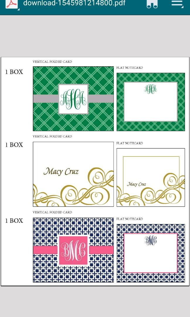 Brand New Highend Stationary with Elegant design and box