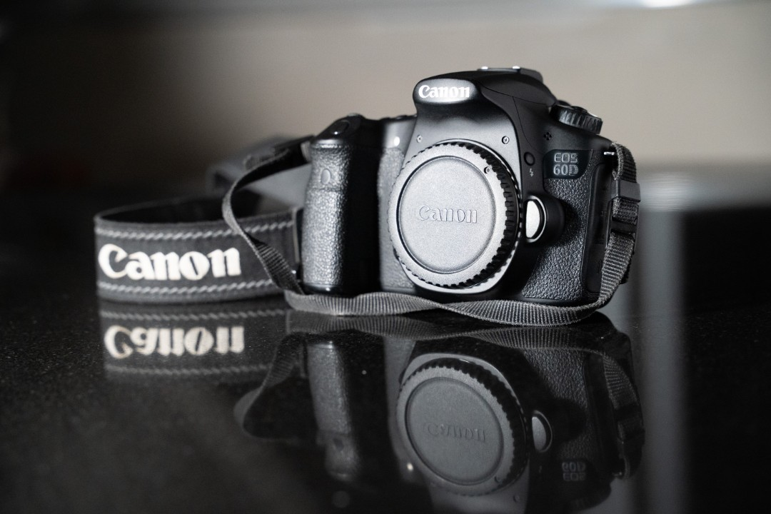 Canon EOS 60D (body only), Photography, Cameras, DSLR on Carousell