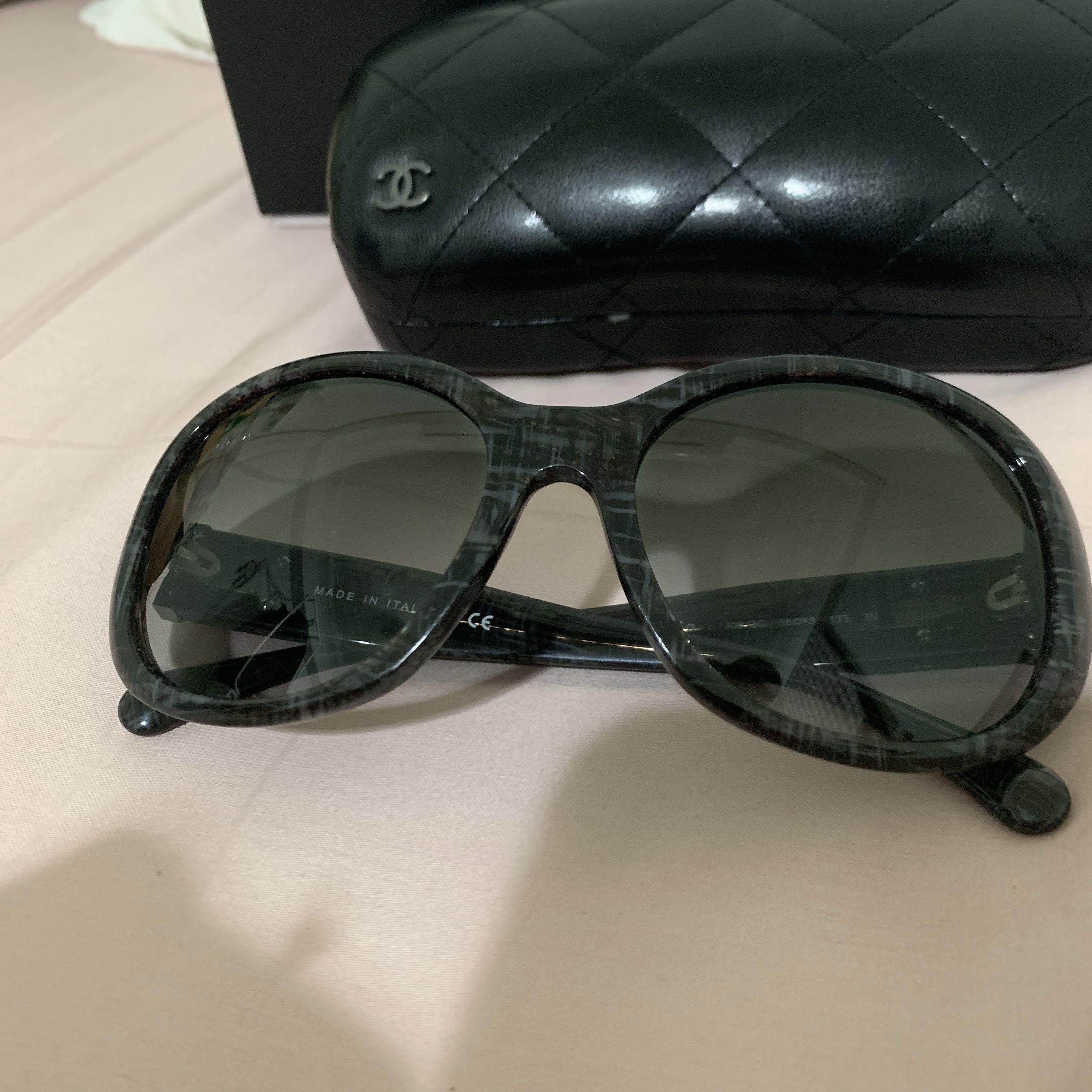 95f38f597f6 Chanel CC logo sunglasses