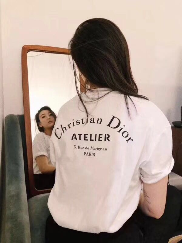 97d99d4a Christian Dior Atelier cotton tee, Women's Fashion, Clothes, Tops on ...