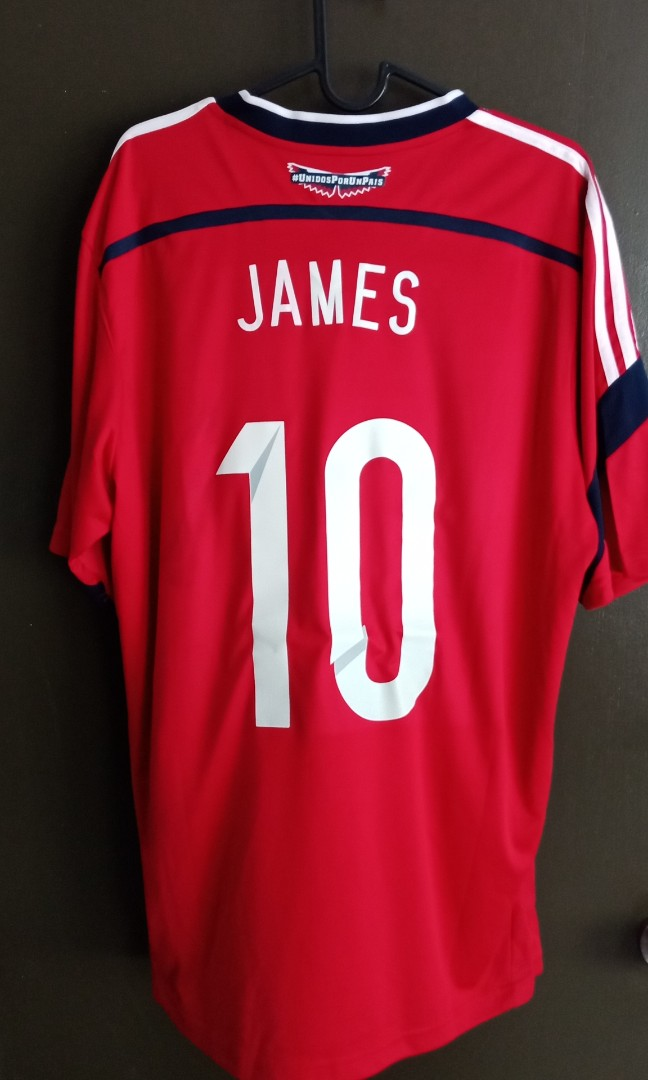 quality design ec67f f0f18 Colombia Jersey (Away) - No. 10 James Rodriguez