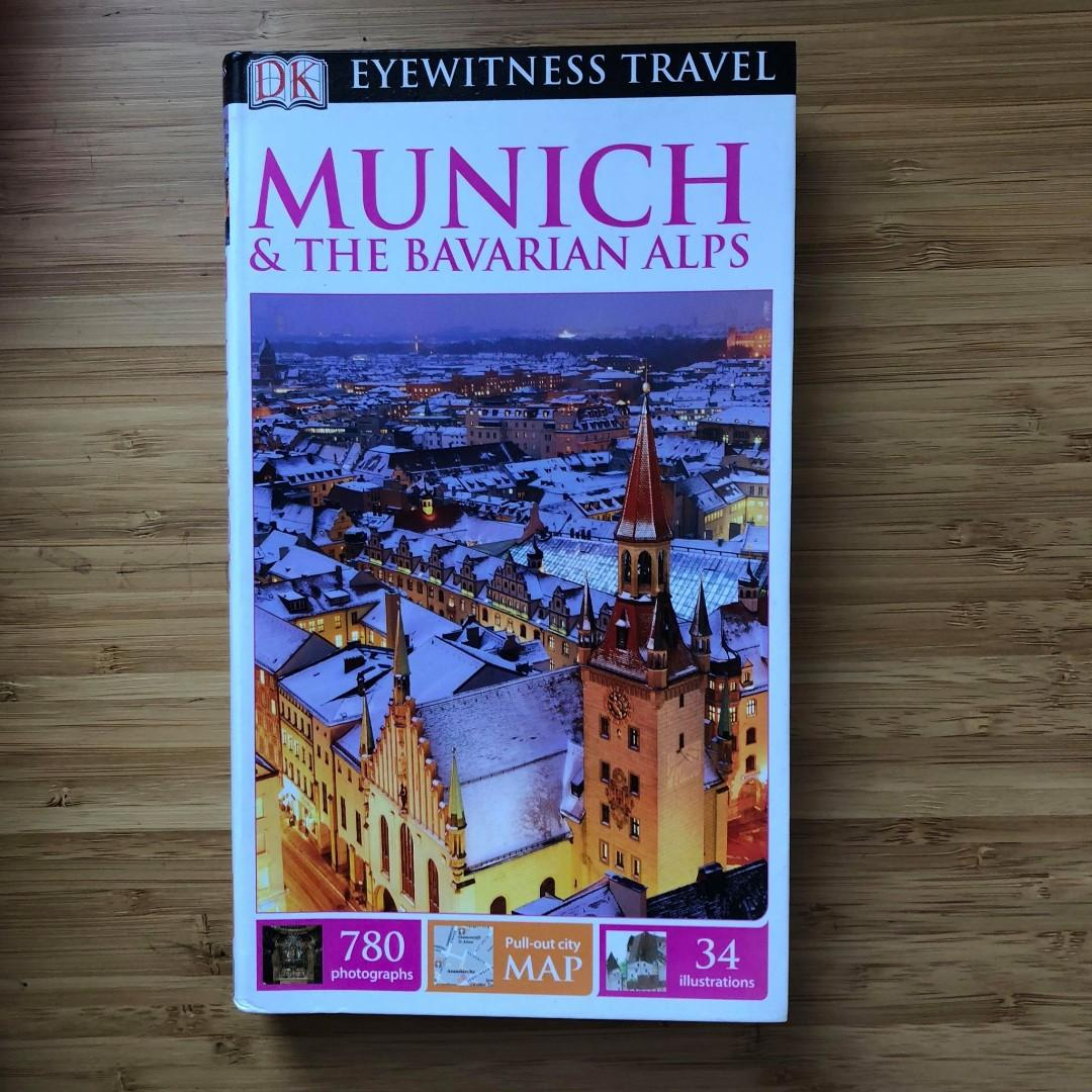 DK Eyewitness Munich & Bavarian Alps travel guide Germany