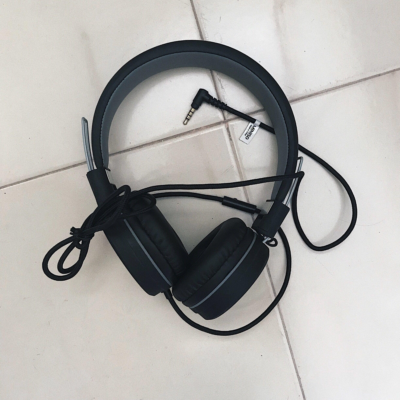 f24113c81df Foldable Miniso Headphones earphones, Electronics, Audio on Carousell