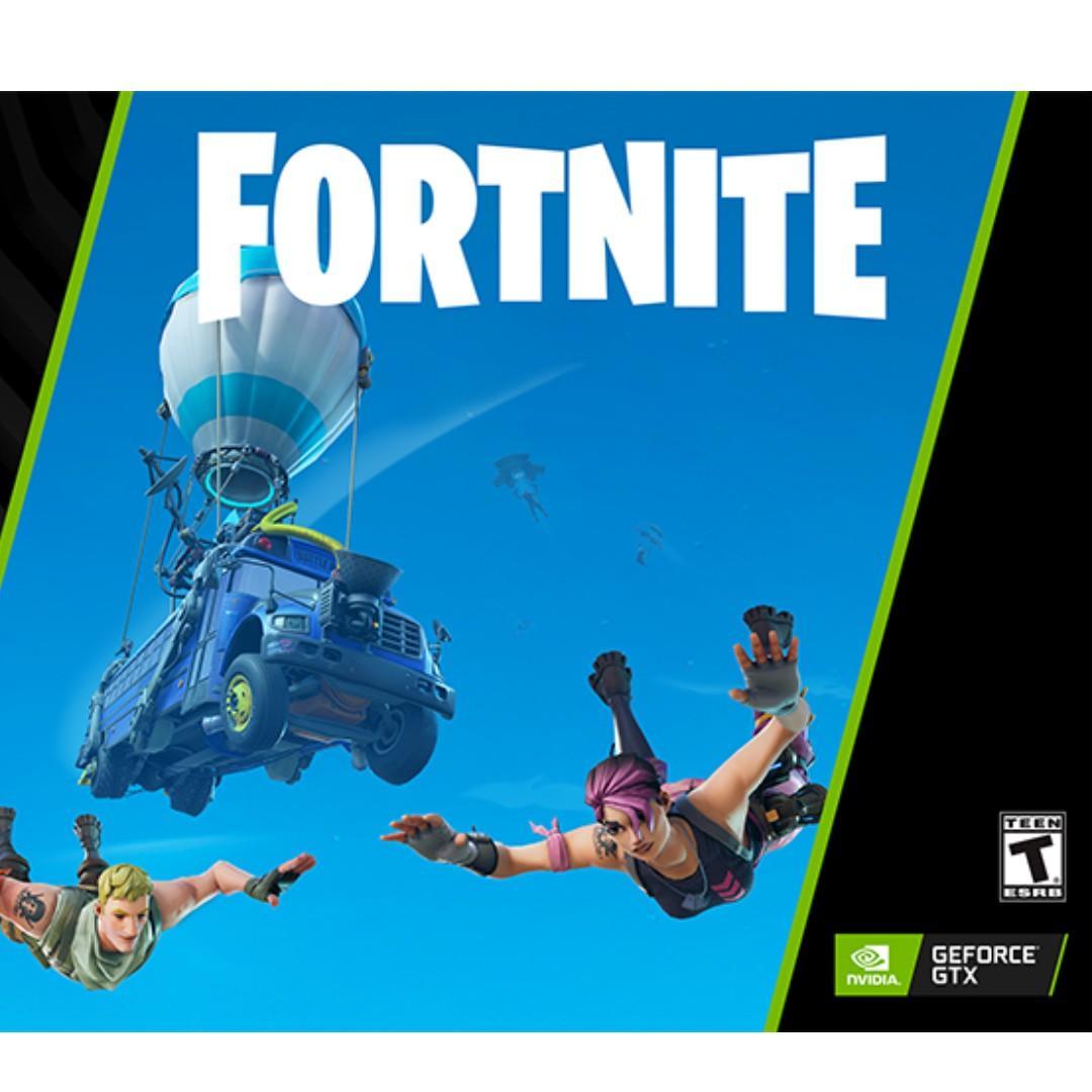 Geforce GTX Fortnite Bundle (Counterattack Set), Toys