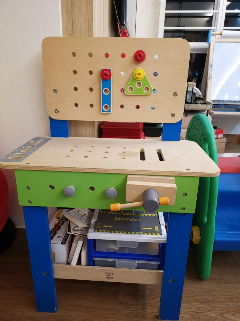 Pleasing Hape Workbench For Toddlers Toys Games Others On Carousell Uwap Interior Chair Design Uwaporg