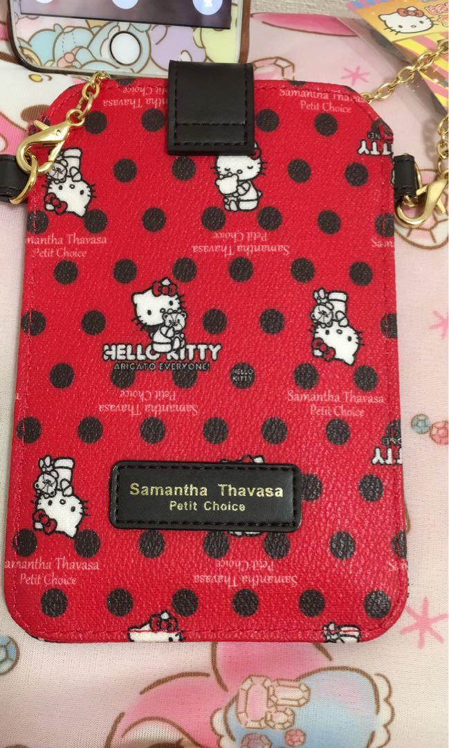 a10ab59f72 Hello Kitty X Samantha Thavasa Sling Pouch