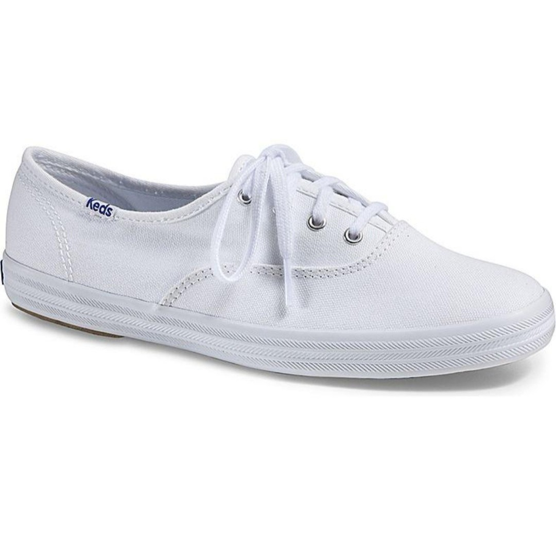 8cb960240afc0 Keds champion original white canvas sneakers