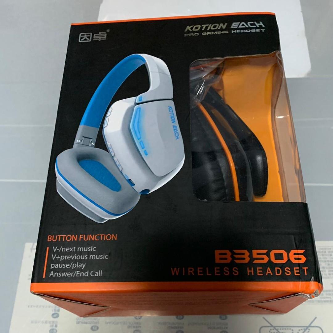 f69aa5e919f KOTION EACH B3506 Wireless Headset, Electronics, Audio on Carousell