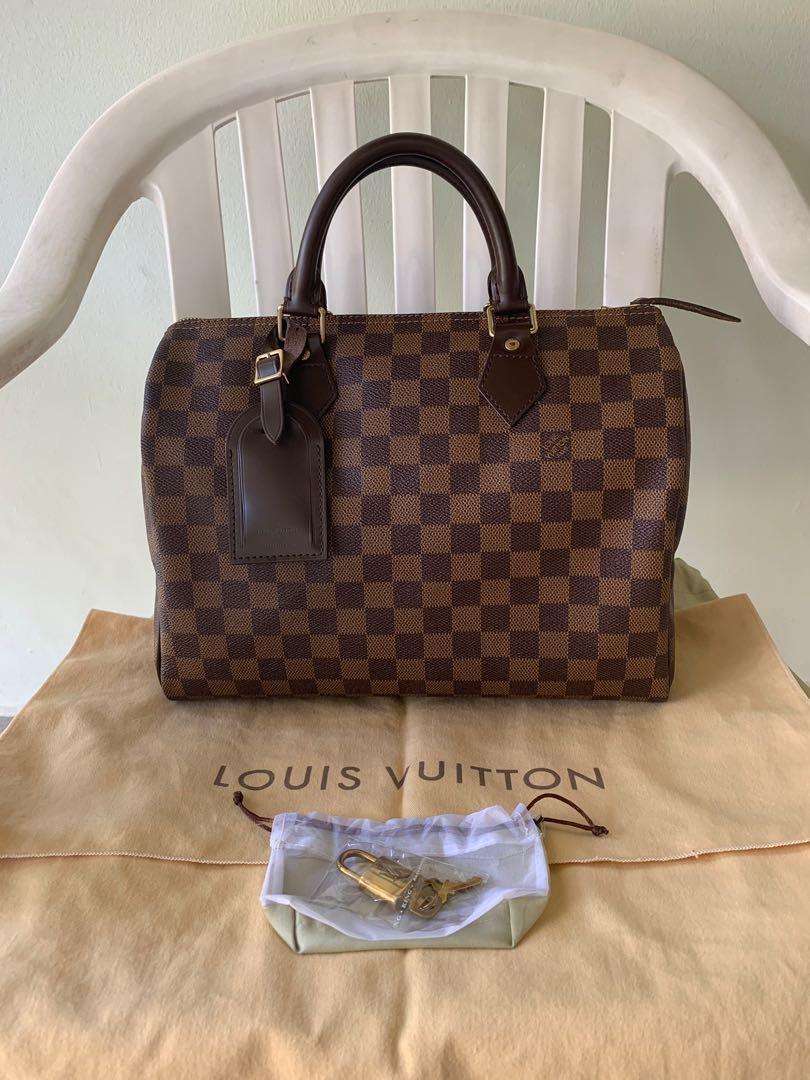 Louis Vuitton Classic Speedy 30 in Damier Ebene cab4081ed8ca9