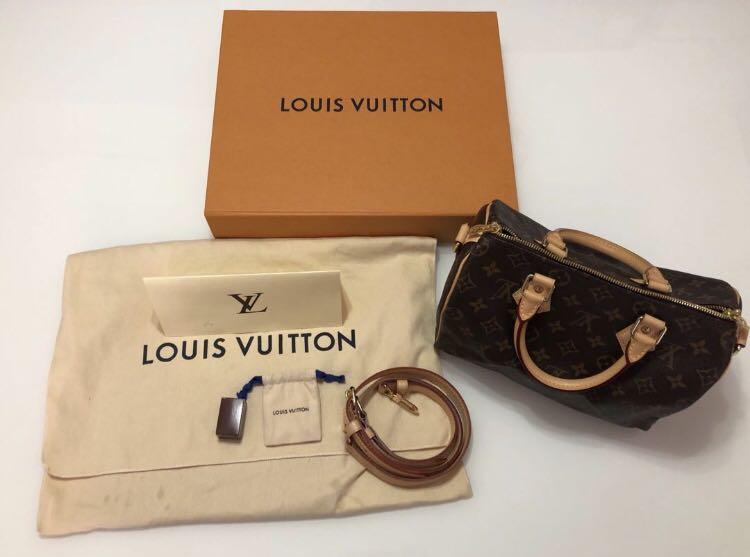 00aa15bdc6a8 Louis Vuitton Monogram Speedy Bandouliere 25