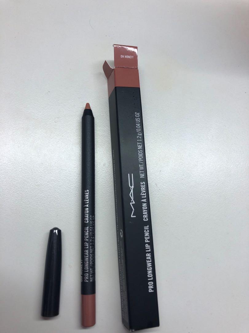 Mac Pro longwear lip pencil- oh honey!