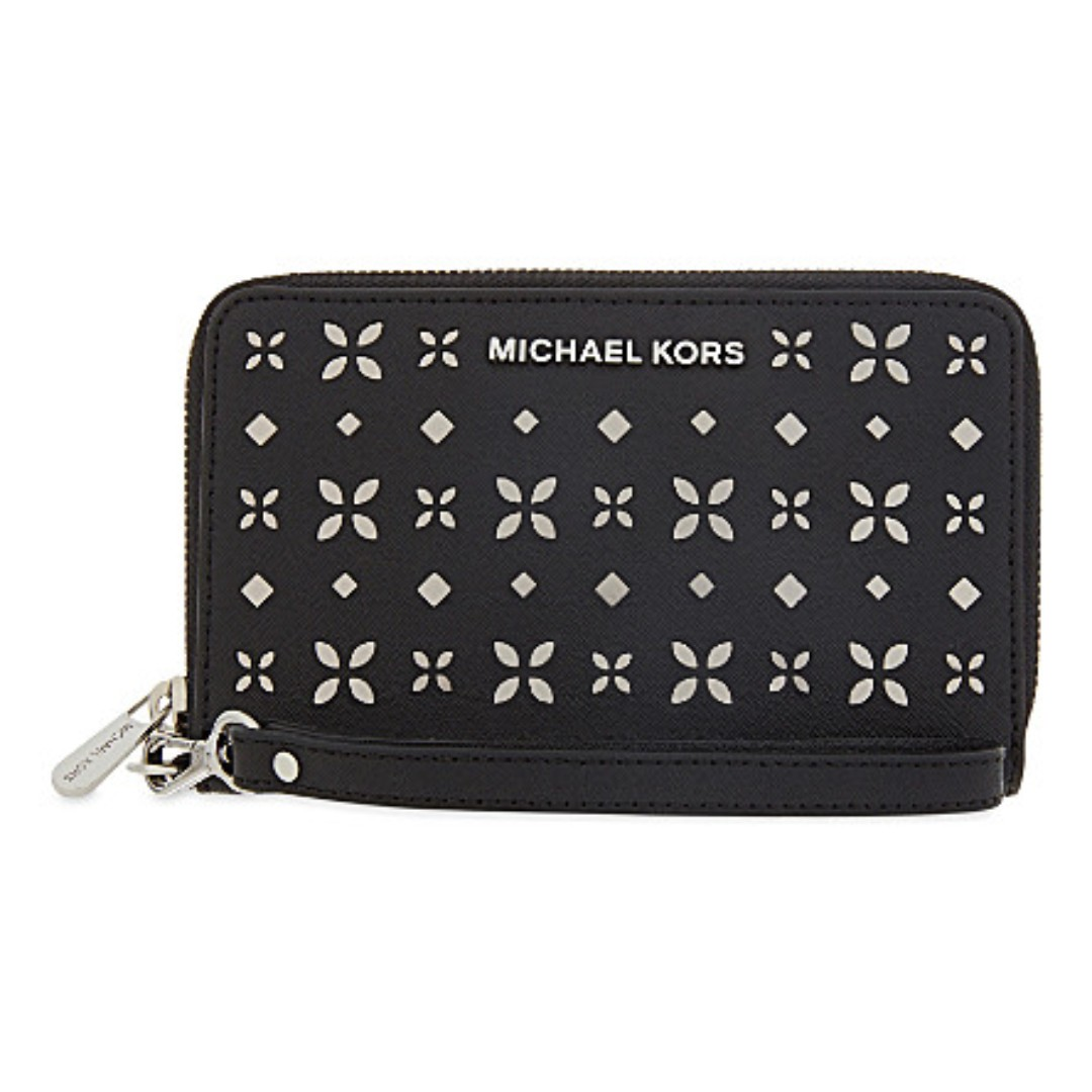 fa619efbc922 MICHAEL KORS 32T6STVE2U JET SET TRAVEL LARGE PERFORATED-LEATHER ...