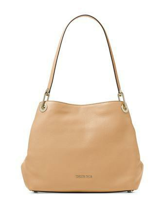 febe4dcd936d21 ♥ Michael Kors Raven Large Leather Shoulder Bag, Women's Fashion ...
