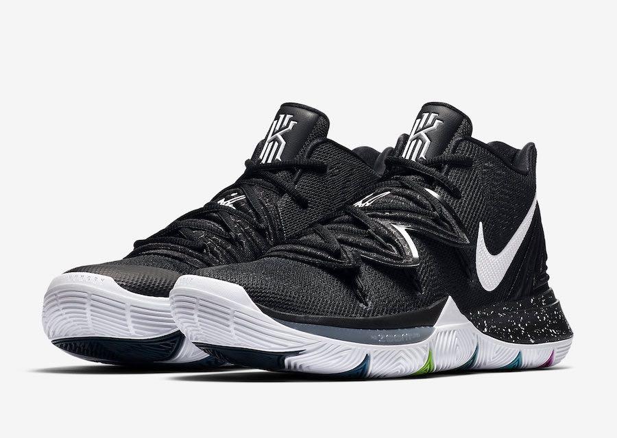 d9d52c378e80 Nike kyrie 5 black magic brand new authentic