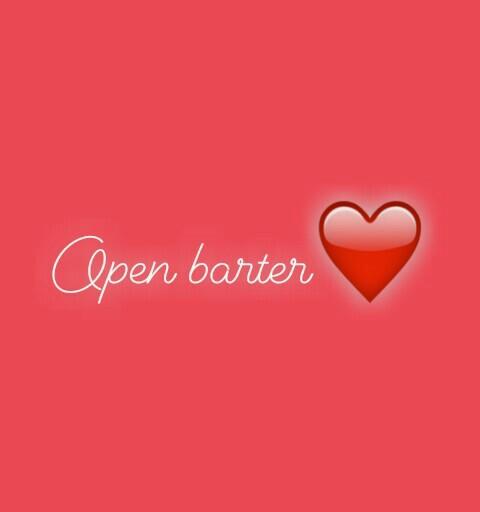 Open barter♥