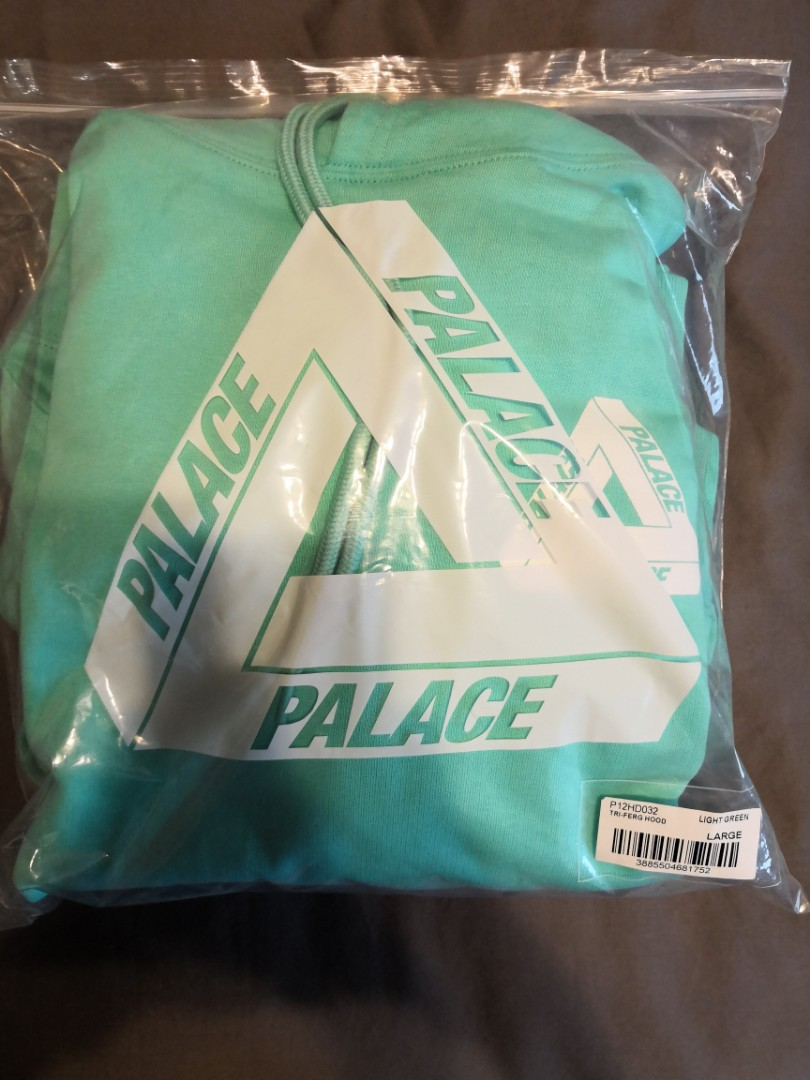 95adccdd1a85 Palace Triferg Hoodie Teal Size L
