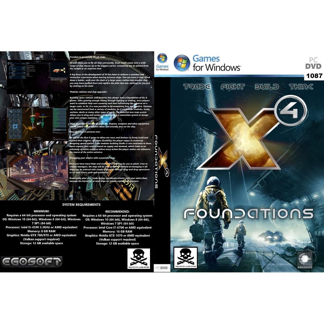 (PC) X4: Foundations