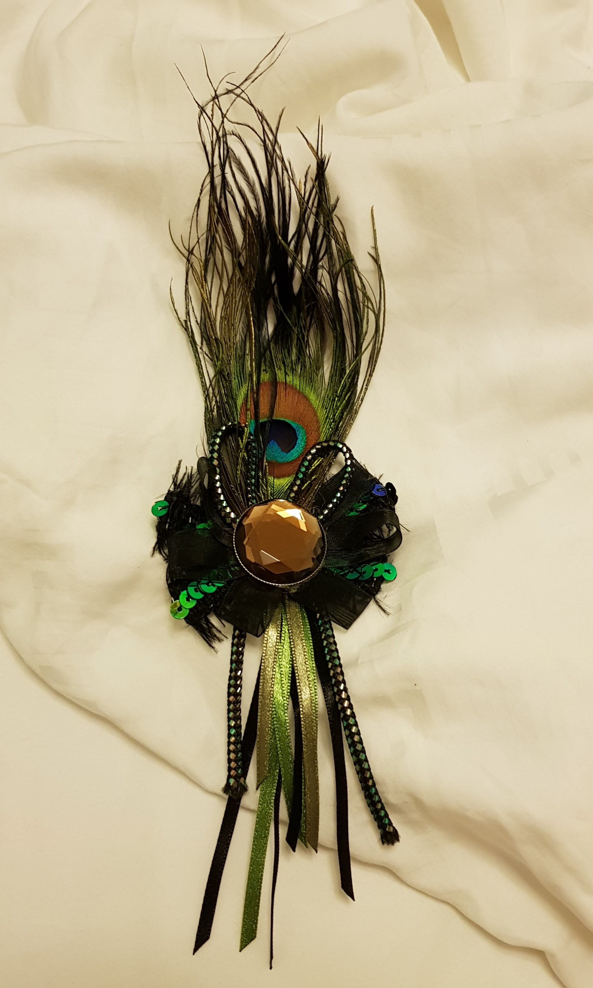 6b3efc503 Peacock brooch, Women's Fashion, Jewellery, Brooches on Carousell