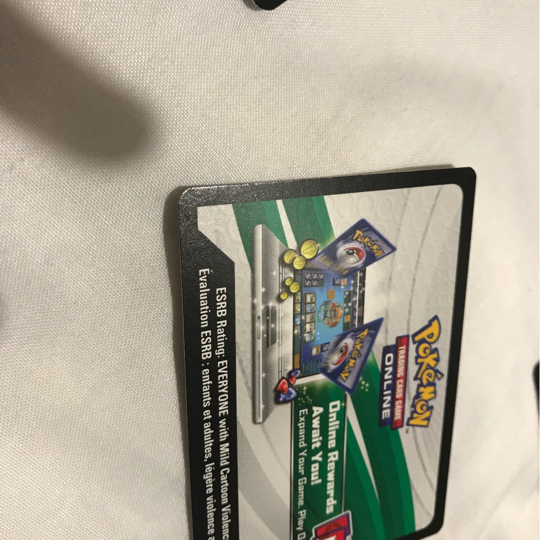 Pokemon cards code      can sell in bull