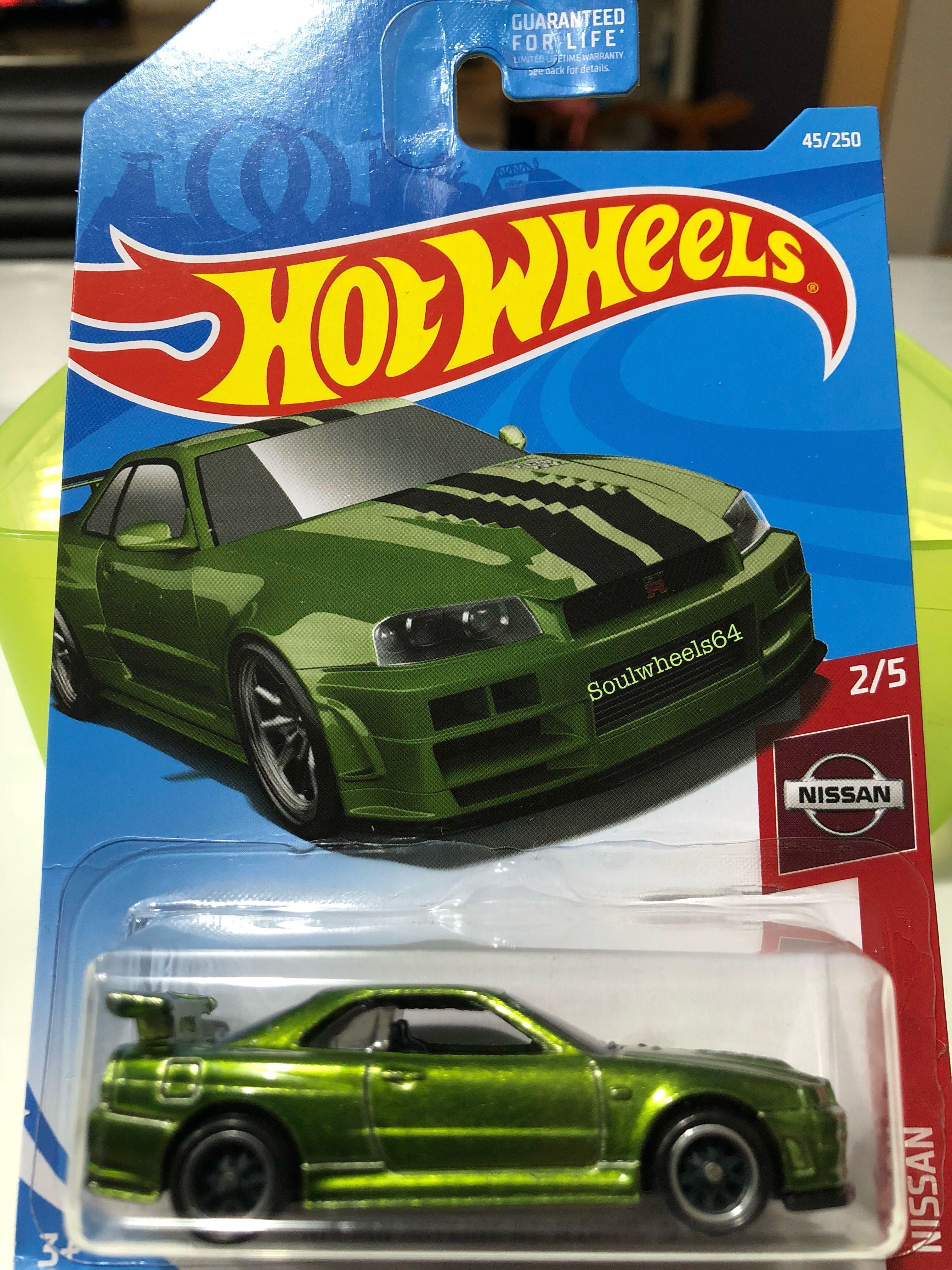 Price Reduced! Hot Wheels Nissan Skyline GTR R34 Super