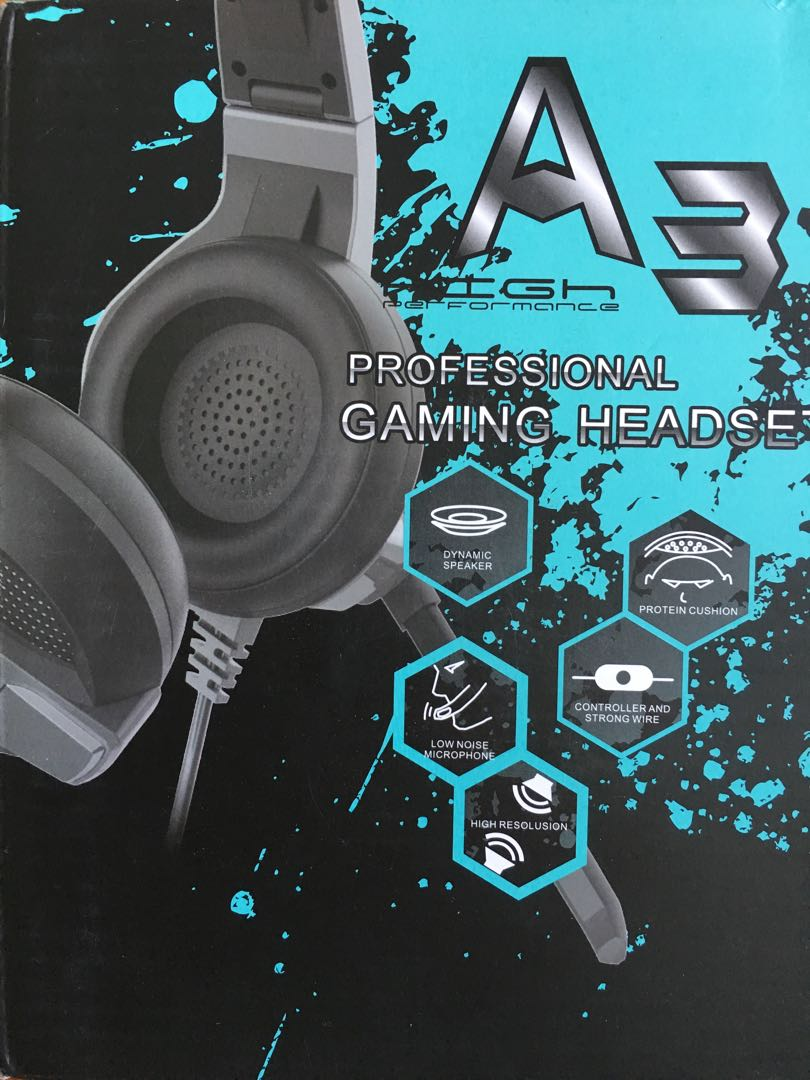 Professional Gaming Headset $60