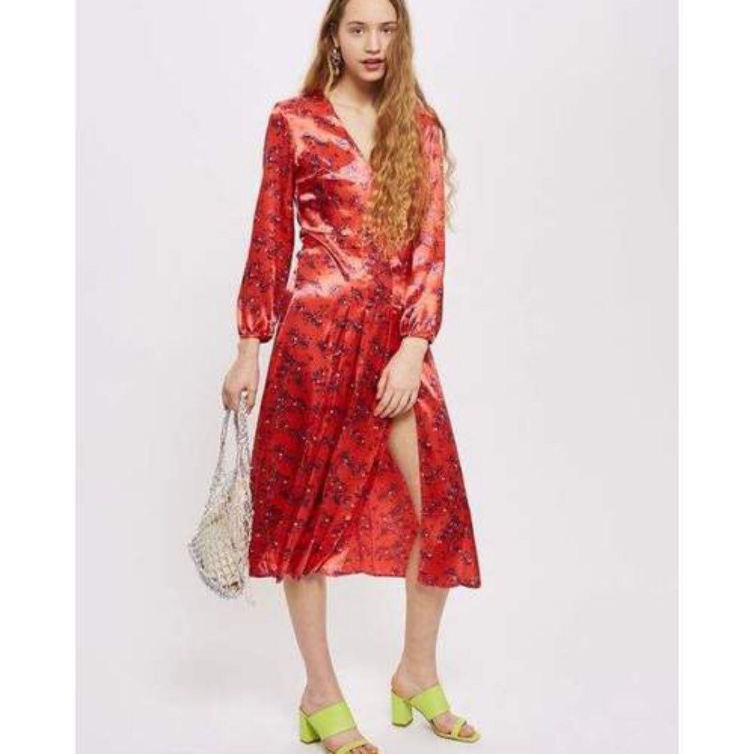 1d4c91e157d Wispy Floral Print Midi Skirt Topshop - Gomes Weine AG