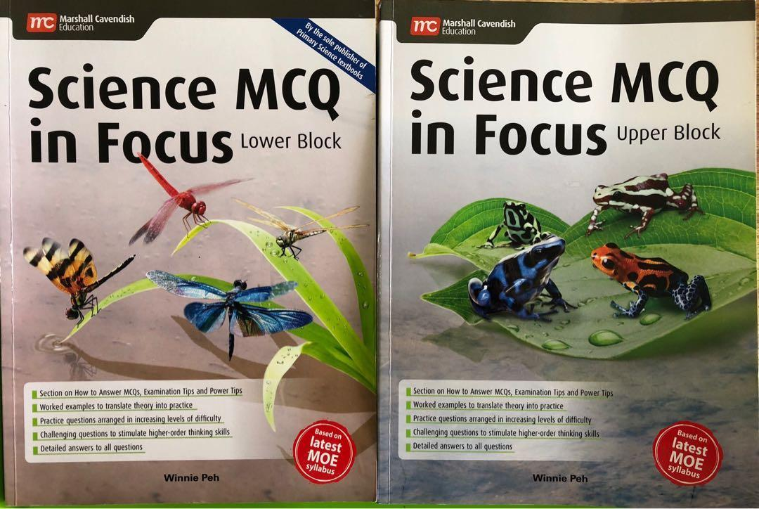 Science MCQ in Focus (Lower Block) + (Upper Block), Books