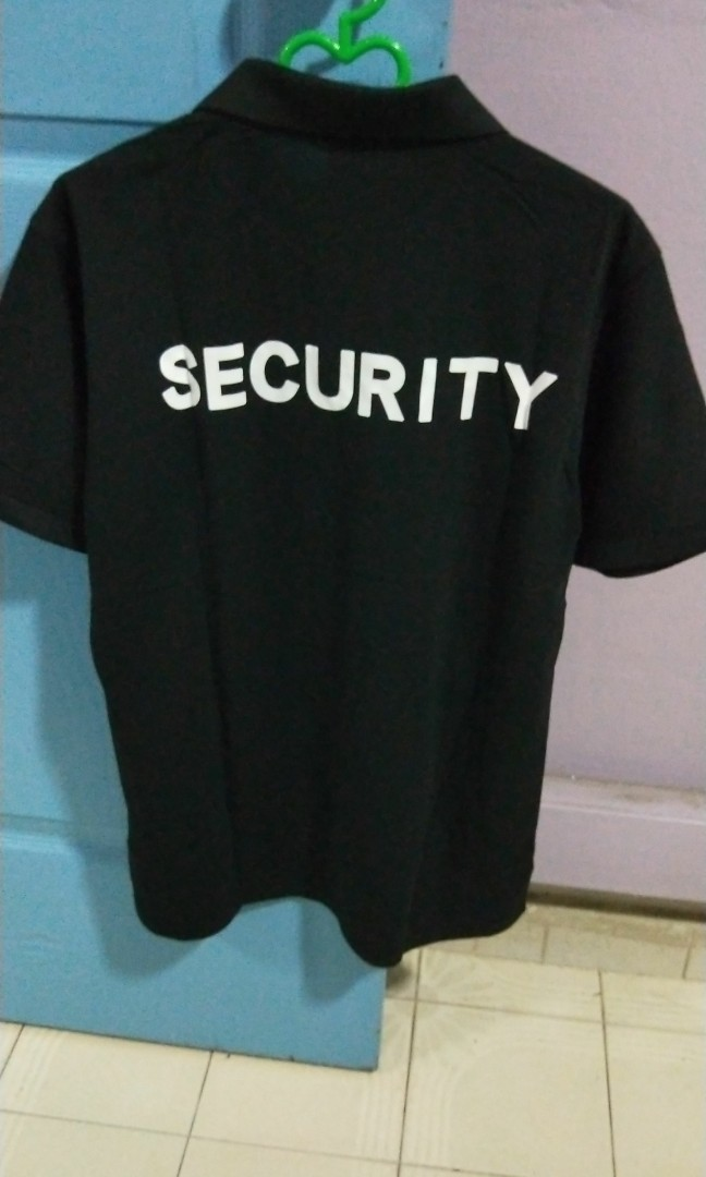 178ca192 Security Polo T-shirt, Men's Fashion, Clothes, Tops on Carousell