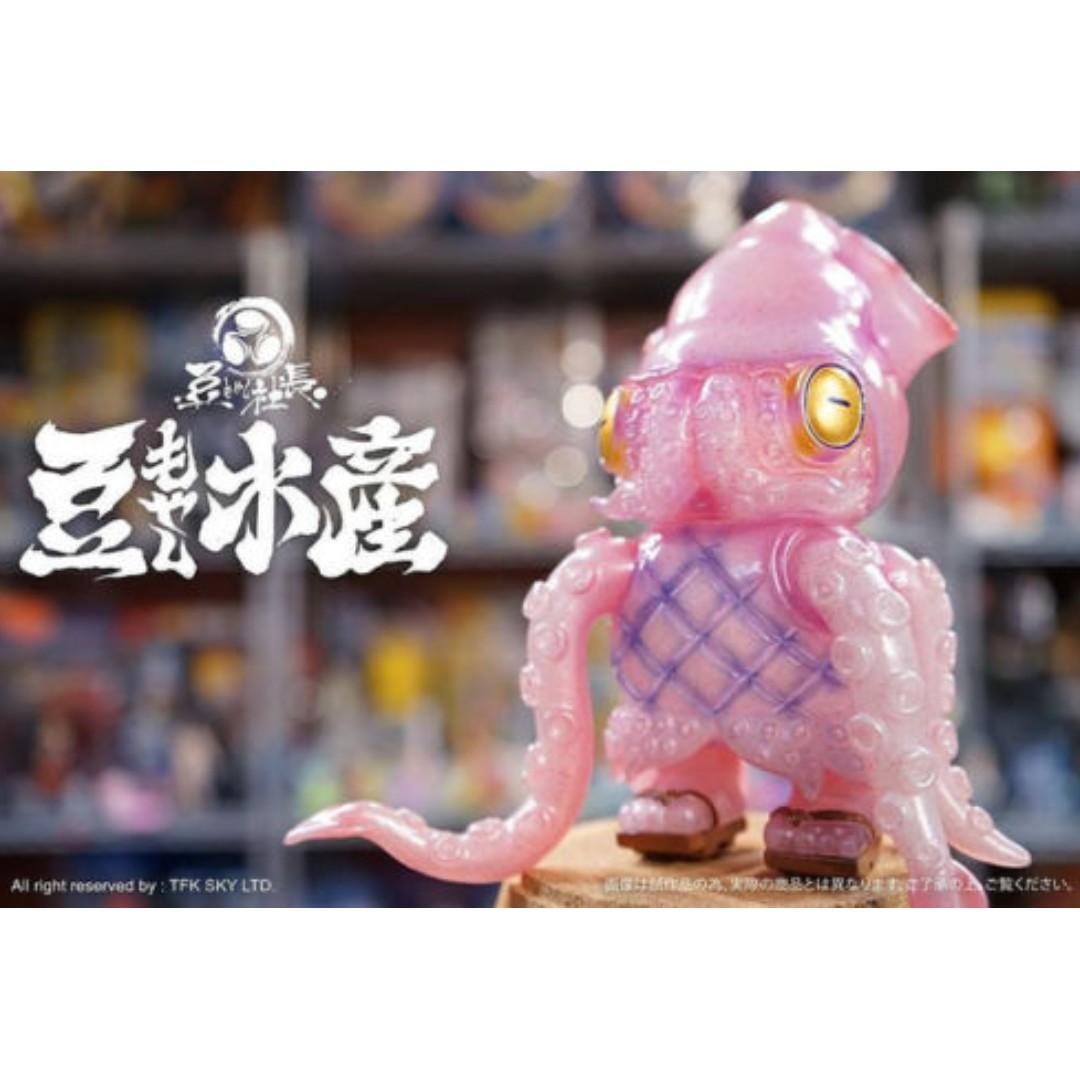 MAME MOYASHI 大豆芽水產 SQUID CHEF SQUIDIANO