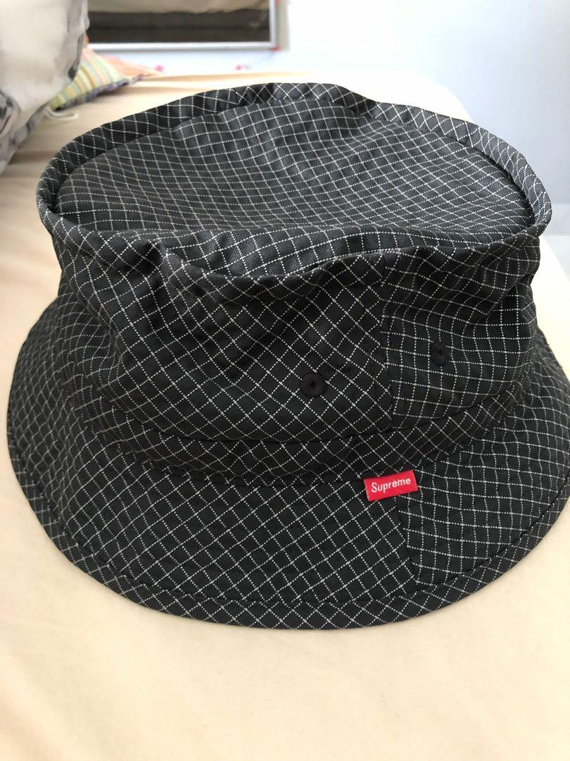 e7c592d20 Supreme Reflective 3M Bucket Hat, Men's Fashion, Accessories, Caps ...