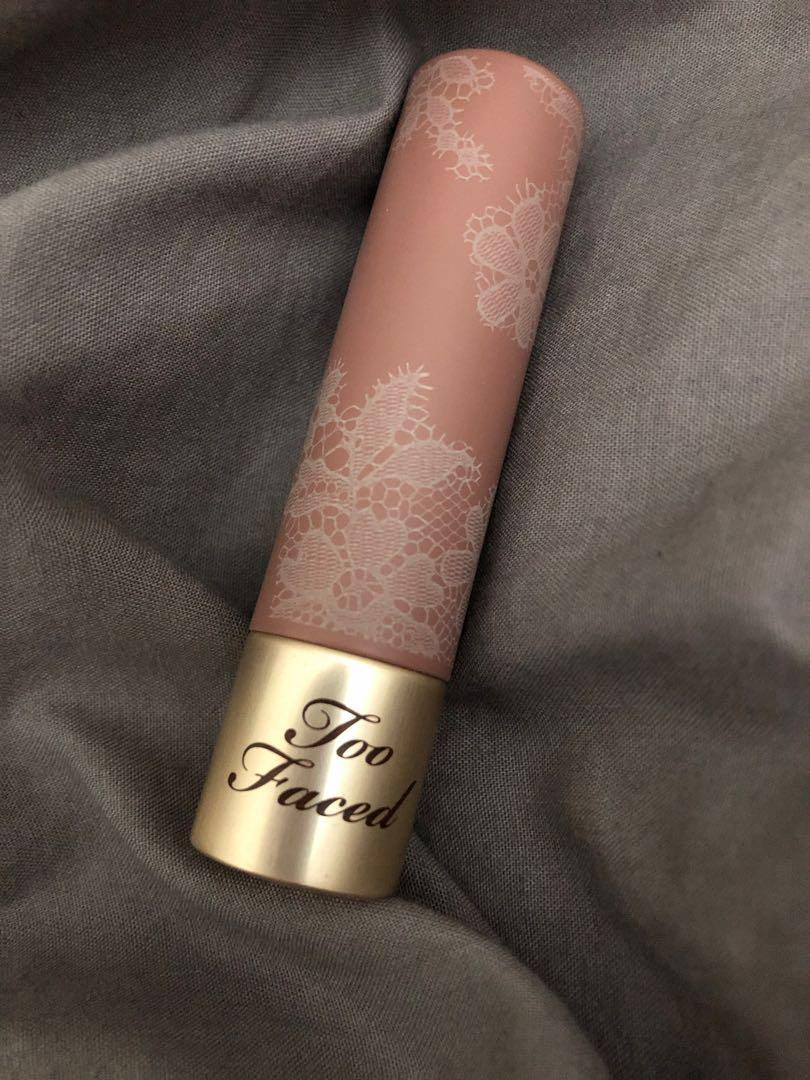Too faced Natural nudes intense colour coconut butter lipstick