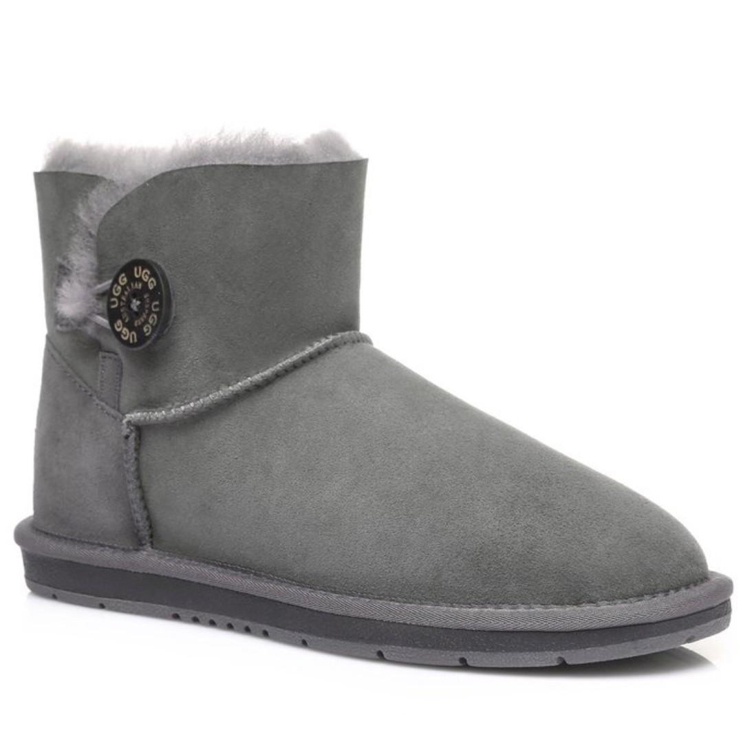 UGG Boots - Australian Shepherd Ladies Water Resistant Mini Button - Non Slip Sole