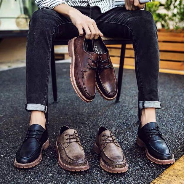 2d4e4f88fa2 🏘URBAN🏘 Discitur Bi-Tone Platform Oxford Brogues Formal Shoes ...