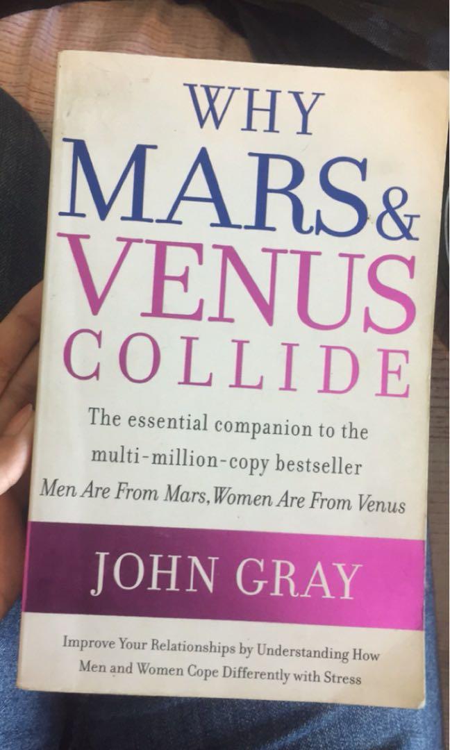 Why Mars Venus Collide Peralatan Tulis Buku Di Carousell
