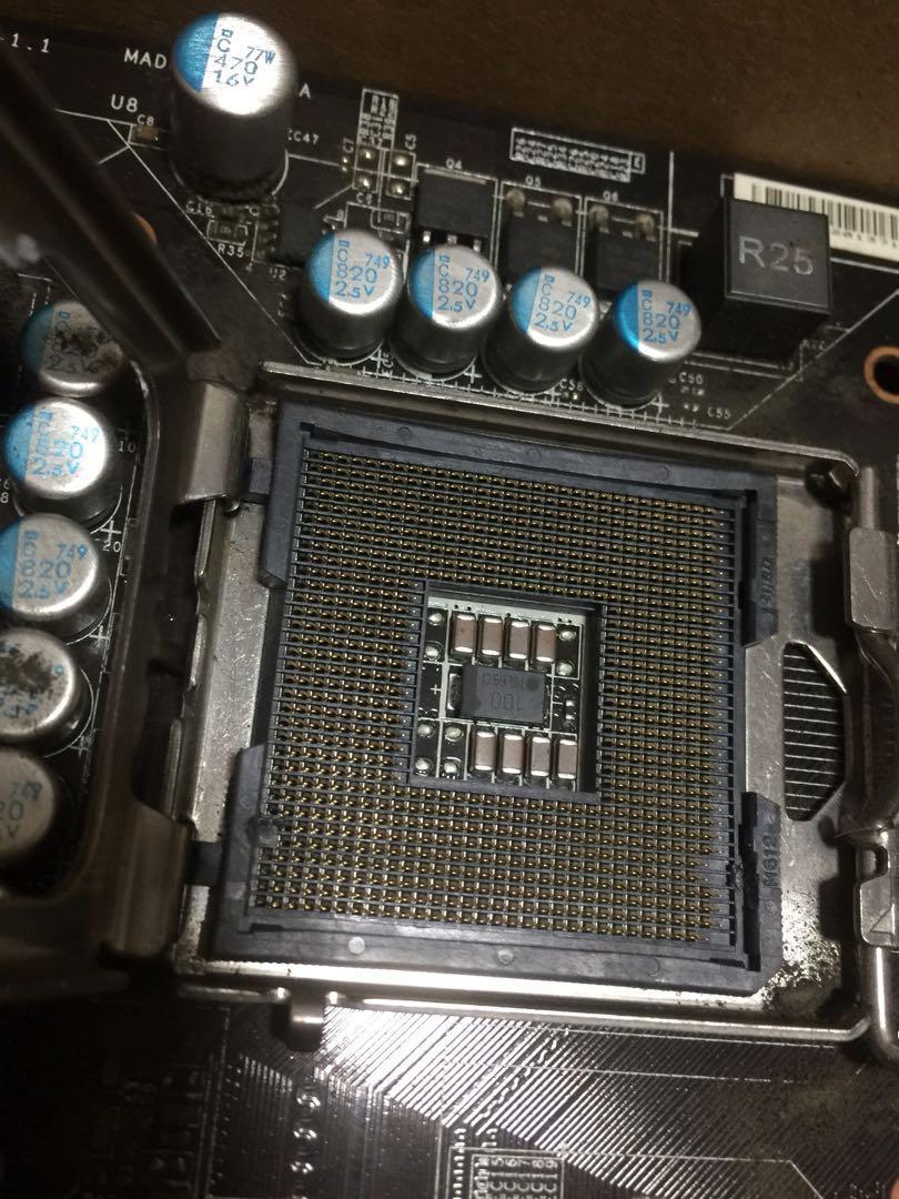 Xeon modded P35 LGA 775 motherboard MSI P35 Neo2