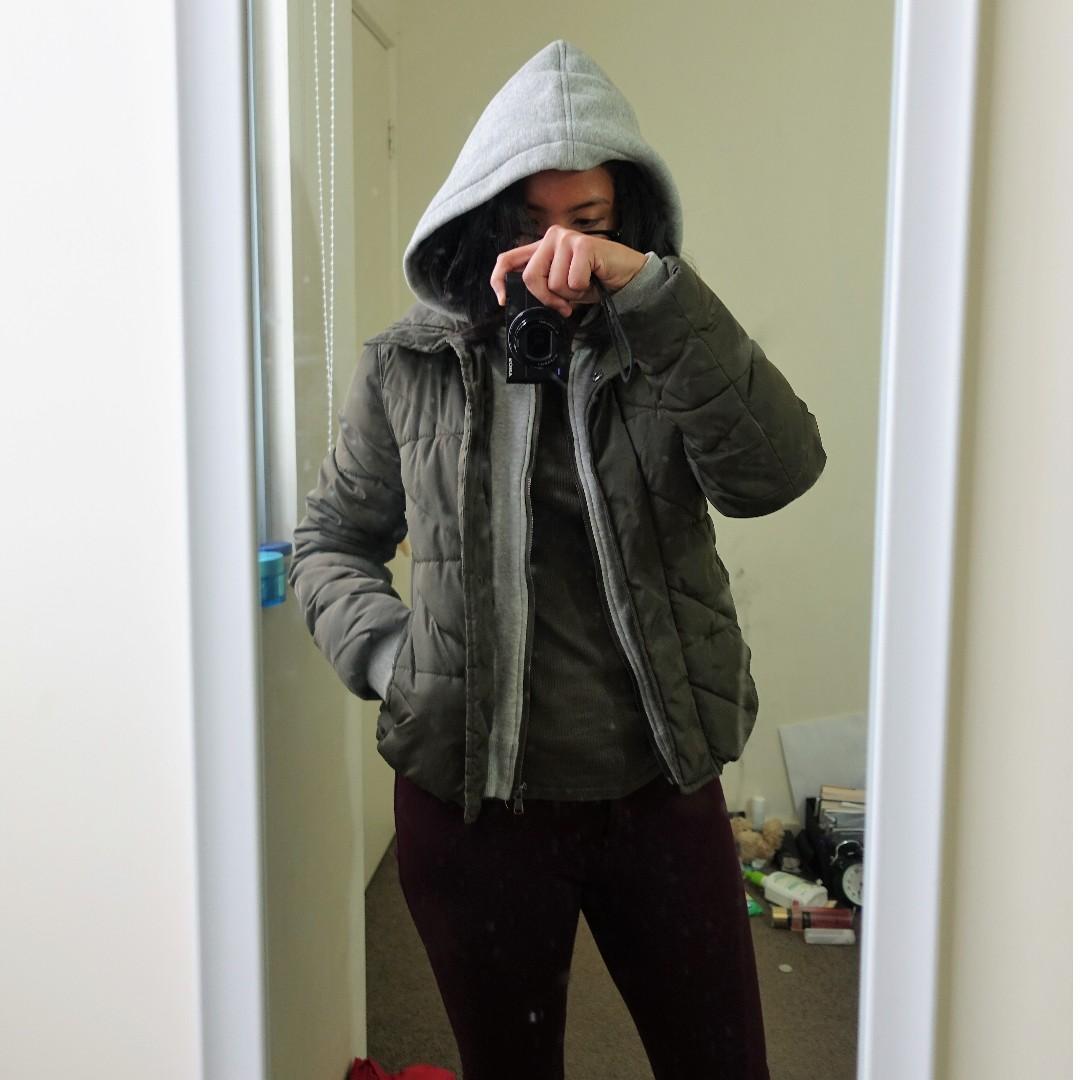 Zara Outerwear Winter Jacket