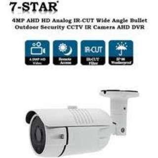 4 Channels DVR Recorder + 4 1080P Cameras + 1 Year Warranty