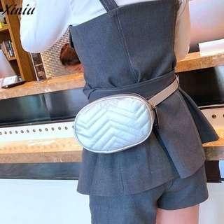 NEW Waist Bag (Contoh pemakaian on model)