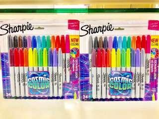 Sharpie Cosmic Colors Limited Edition - Fine Markers in 24's