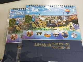 🚚 2019 桌曆