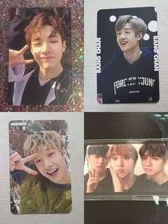 WTB/LF: stray kids bang chan official photocards!!