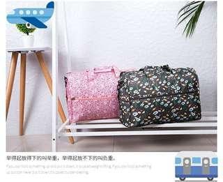 Travel bag摺叠大容量多格防水旅行袋