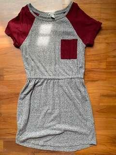 F21 Raglan dress