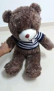 Teddy Bear With Knitted Shirt