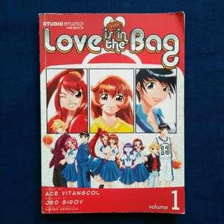 LOVE IS IN THE BAG 1