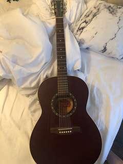 Norman Guitar B18 Protege Cedar Folk Burgundy