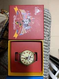 迪士尼手錶 米妮 全新未用 90週年生日限定版 (香港迪士尼買)