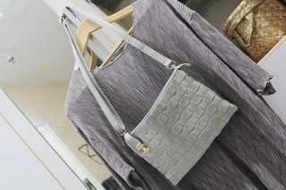 Sling bag /grey anyam